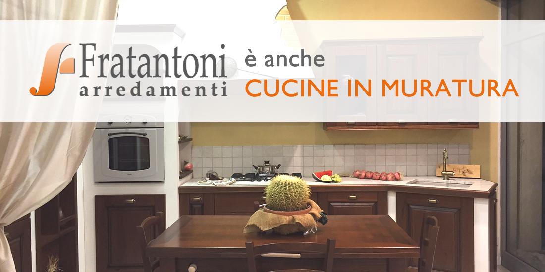 Le cucine in muratura di Fratantoni Arredamenti - Fratantoni ...